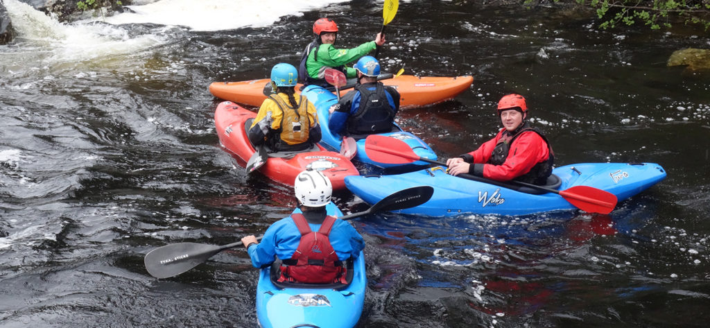 White Water Kayak Coach