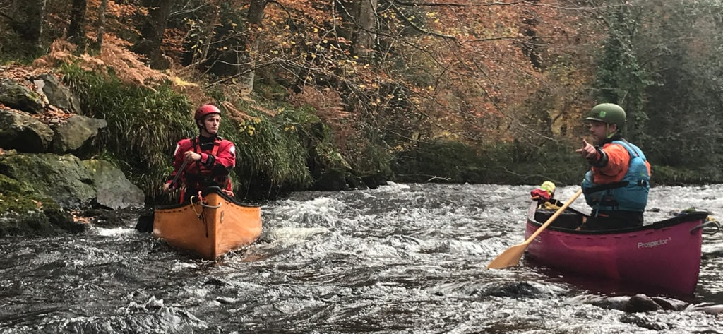 White Water Canoe Performance Coach