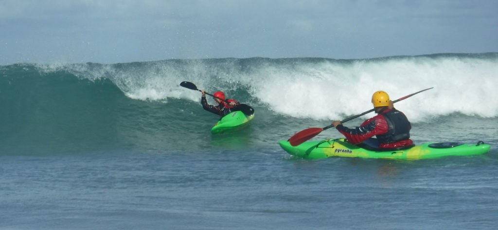 Advanced Surf Kayak Leader