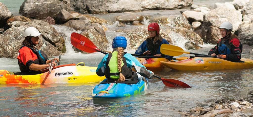 White Water Kayak Leader