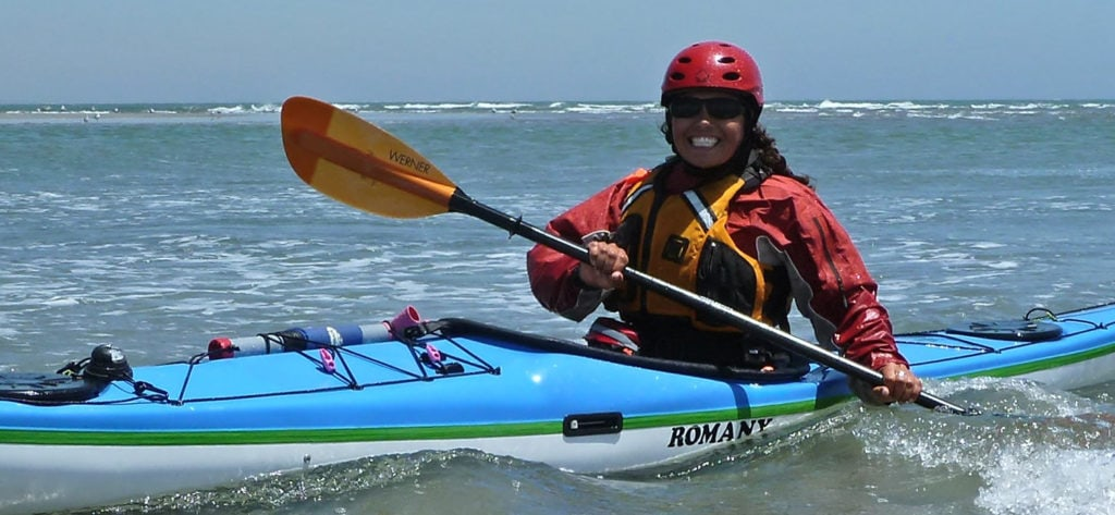 Sea kayakers enjoying the warm waters of Mexico