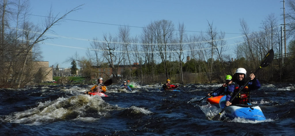 White Water Kayakers
